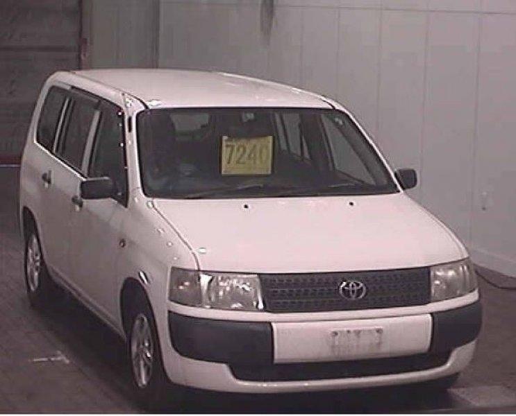 Toyota Probox Van  Station Wagon 11 - 2006  AT White