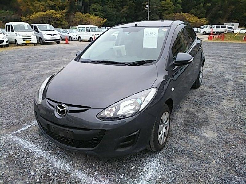 Mazda Demio  Hatchback 10 - 2013  AT GUN METAL
