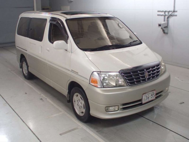 Toyota Grand Hiace  Van / OneBox 10 - 2000  CAT PEARL WHITE