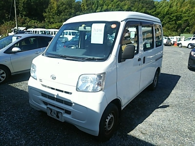 Daihatsu Hijet Van  Van / OneBox 10 - 2012  AT WHITE