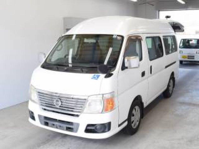 Nissan Caravan Bus  Van / OneBox 11 - 2006  CAT WHITE