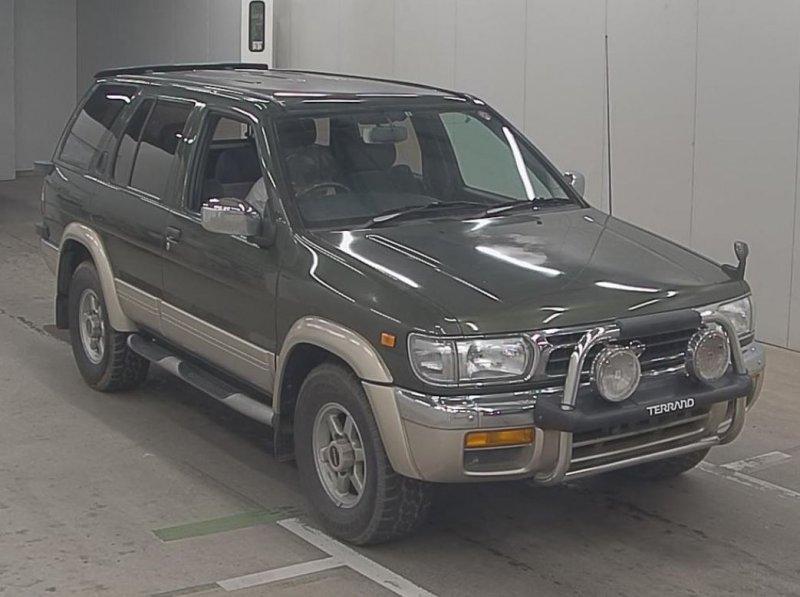 Nissan Terrano  SUV 3 - 1996  AT Green II