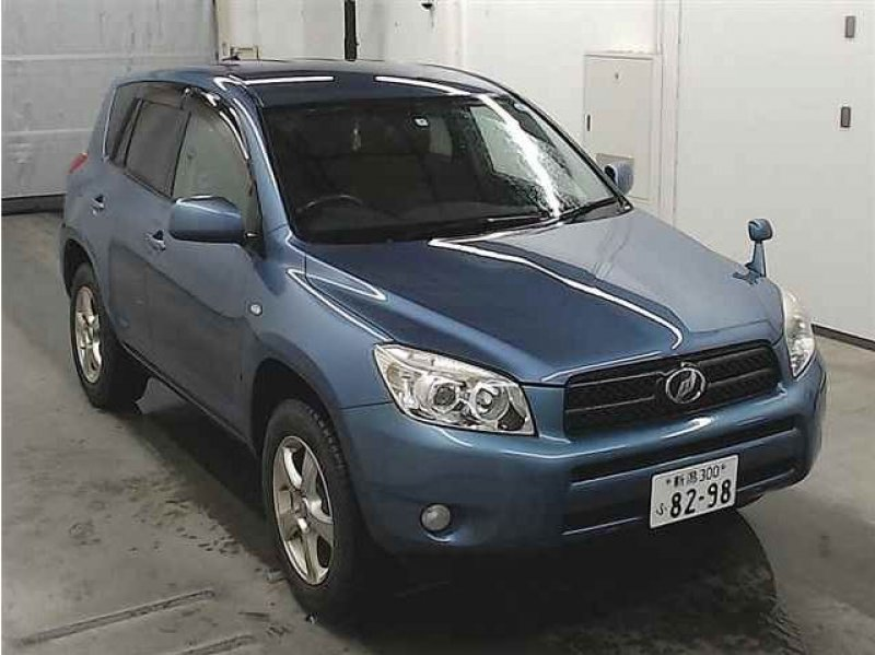 Toyota RAV4  SUV 3 - 2007  FAT DARK BLUE