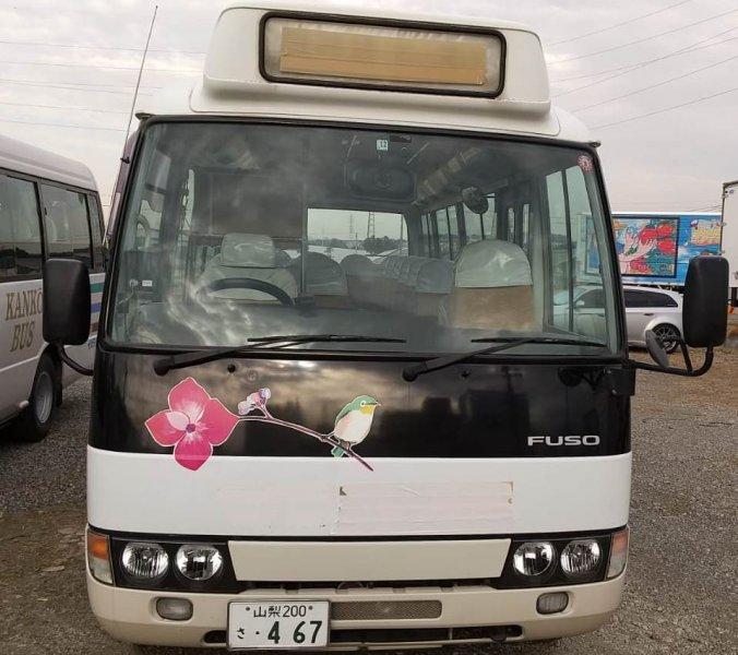 MITSUBISHI ROSA  BUS 12 - 2005  F5 WHITE