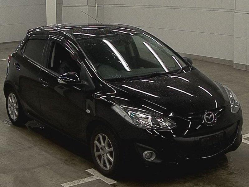 Mazda Demio  Hatchback 1 - 2012  AT BLACK