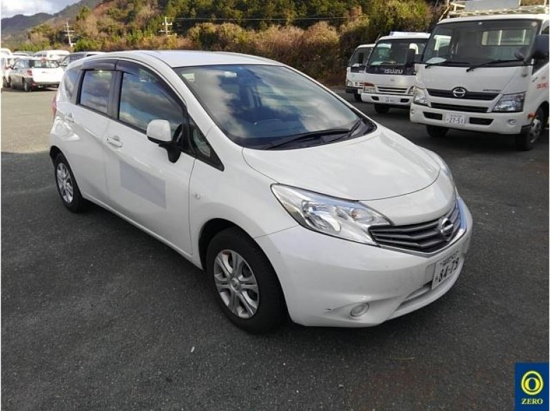 Nissan Note  Hatchback 12 - 2013  FAT PEARL WHITE
