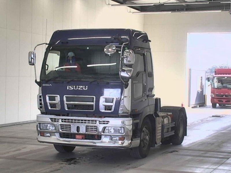 ISUZU GIGA  TRUCK 2 - 2009  F8 BLUE