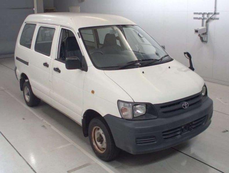 Toyota Townace Van  Van / OneBox 5 - 2007  F5 WHITE