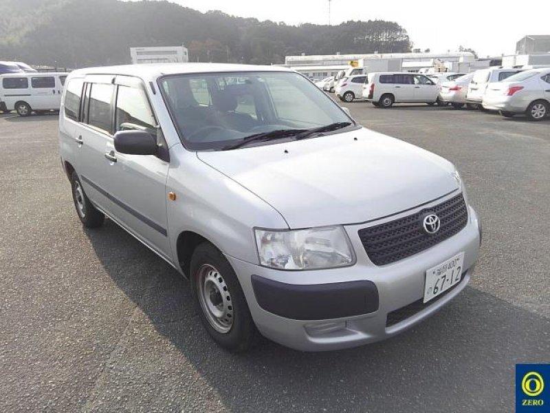 Toyota Succeed Van  Station Wagon 11 - 2012  FAT SILVER