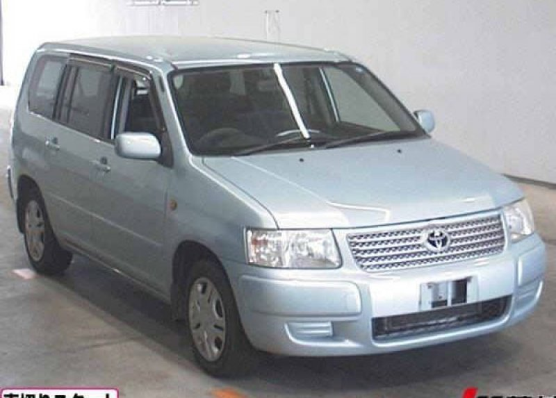 Toyota Succeed Wagon  Station Wagon 5 - 2003  AT LIGHT BLUE