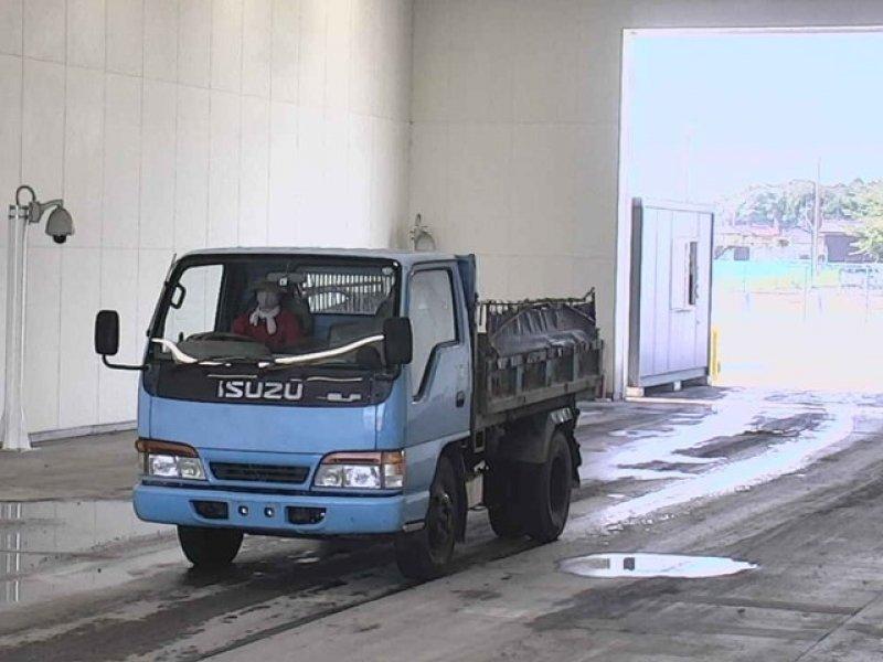 ISUZU ELF  TRUCK 3 - 1997  F5 BLUE