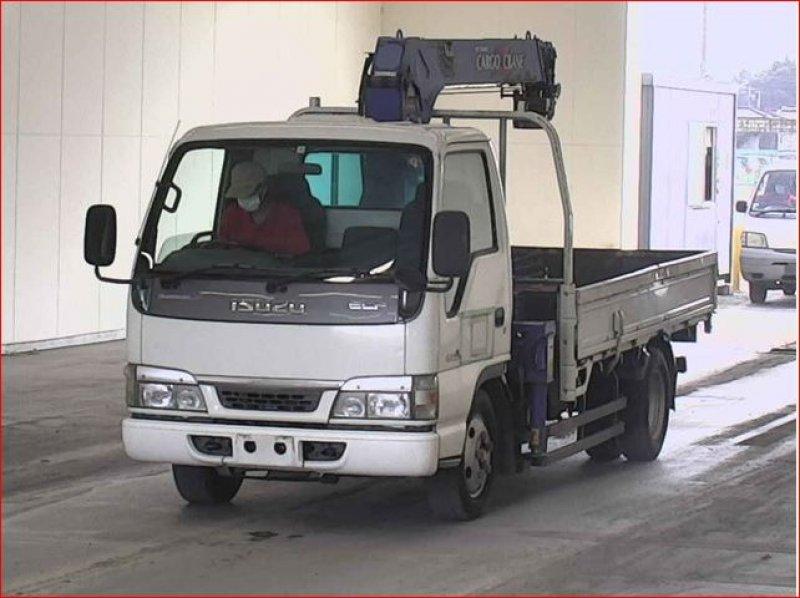 ISUZU ELF  TRUCK 3 - 2003  F5 WHITE