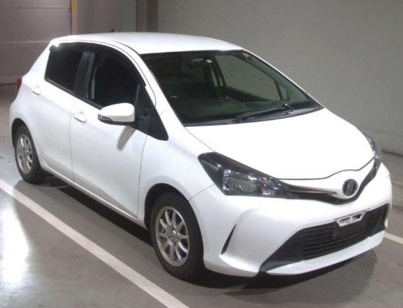 Toyota Vitz  Hatchback 7 - 2014  FAT WHITE