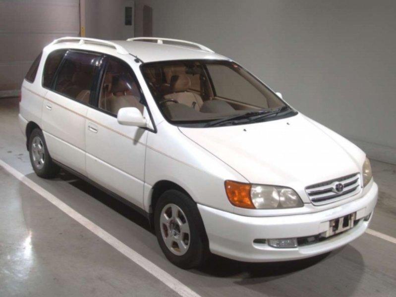 Toyota Ipsum  Station Wagon 6 - 2000  CAT PEARL WHITE