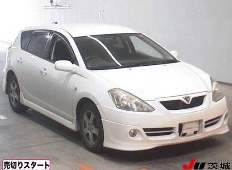 Toyota Caldina Wagon  Station Wagon 4 - 2006  FAT WHITE